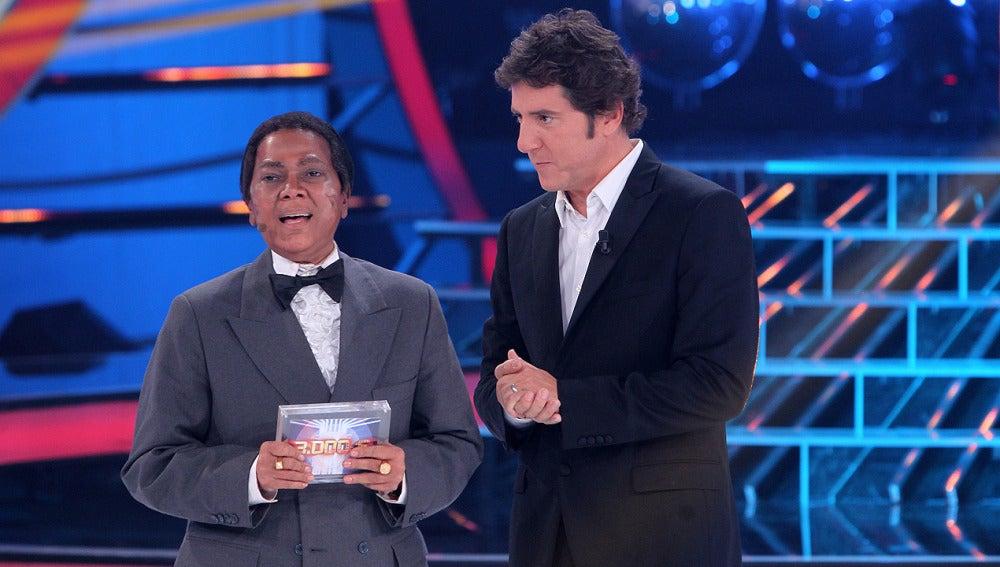 Ángela Carrasco gana la cuarta gala de 'Tu cara me suena' como Antonio Machín