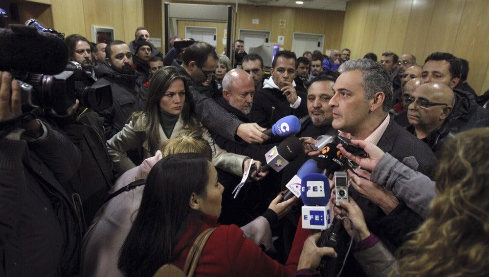 El secretario general de la Federación de Servicios Privados de CCOO de Madrid, Jesús Ángel Belvis