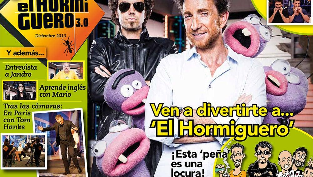 Portada Diciembre Revista El Hormiguero 3.0