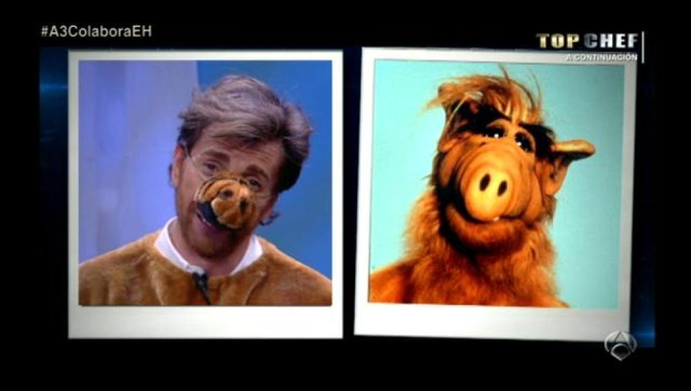 Pablo Motos es Alf