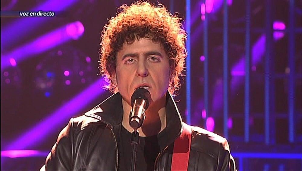 Manel Fuentes imita a Lou Reed en Tu cara me suena
