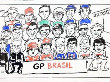Parrilla del GP de Brasil 2013
