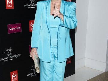 Lina Morgan en los Premios Estrella de Oro 2011.