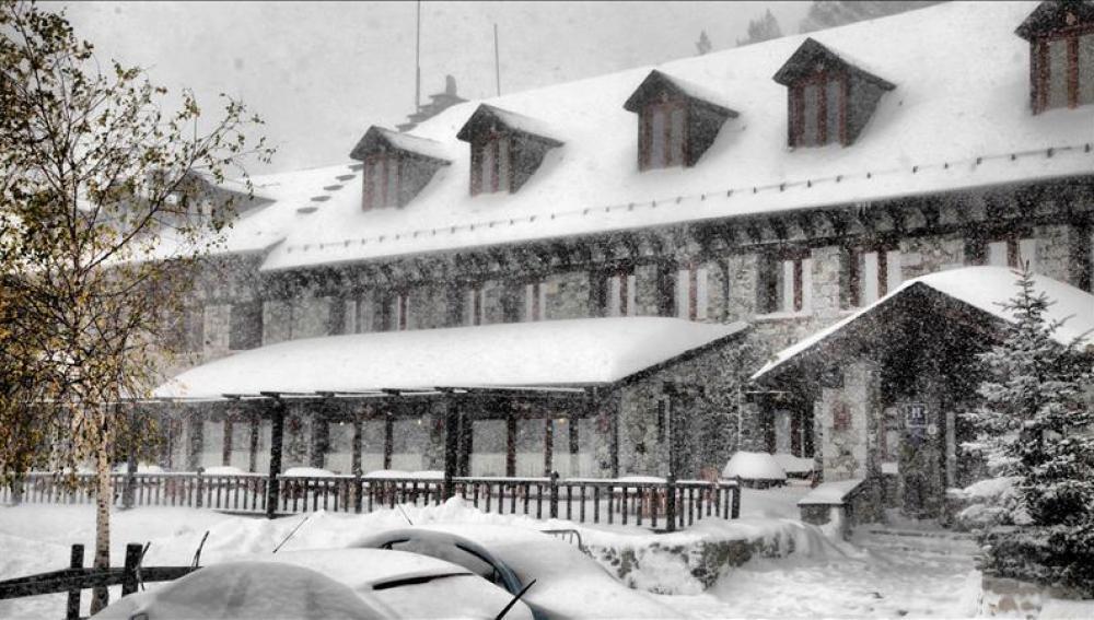 La nieve adelanta el arranque de la temporada