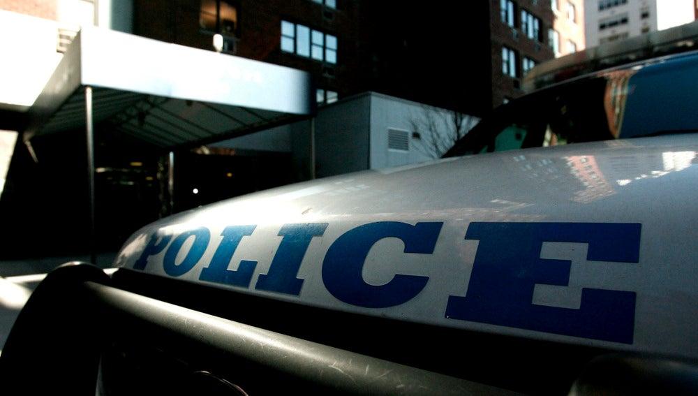 Coche de policía de EEUU