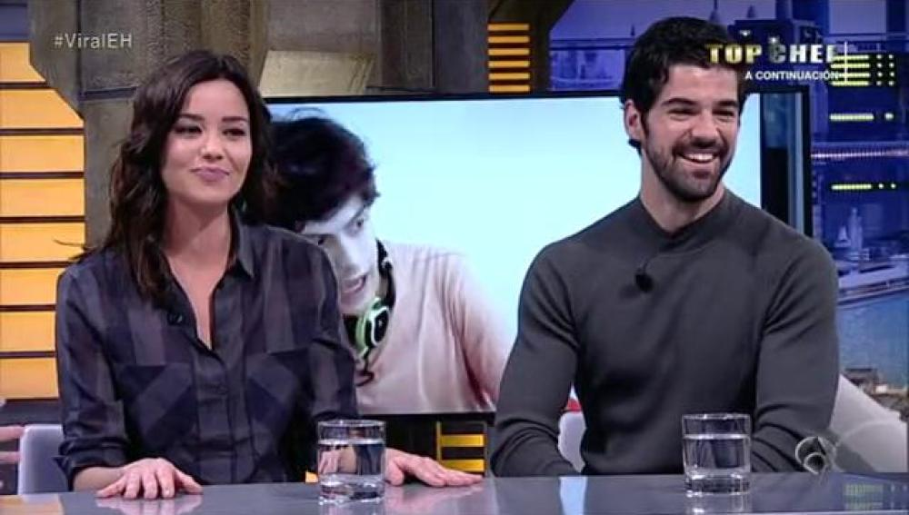 Dafne Fernández y Miguel Ángel Muñoz en El Hormiguero 3.0