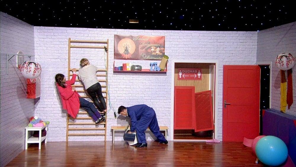 Teatro de Pendiente - El suponcio Pilates