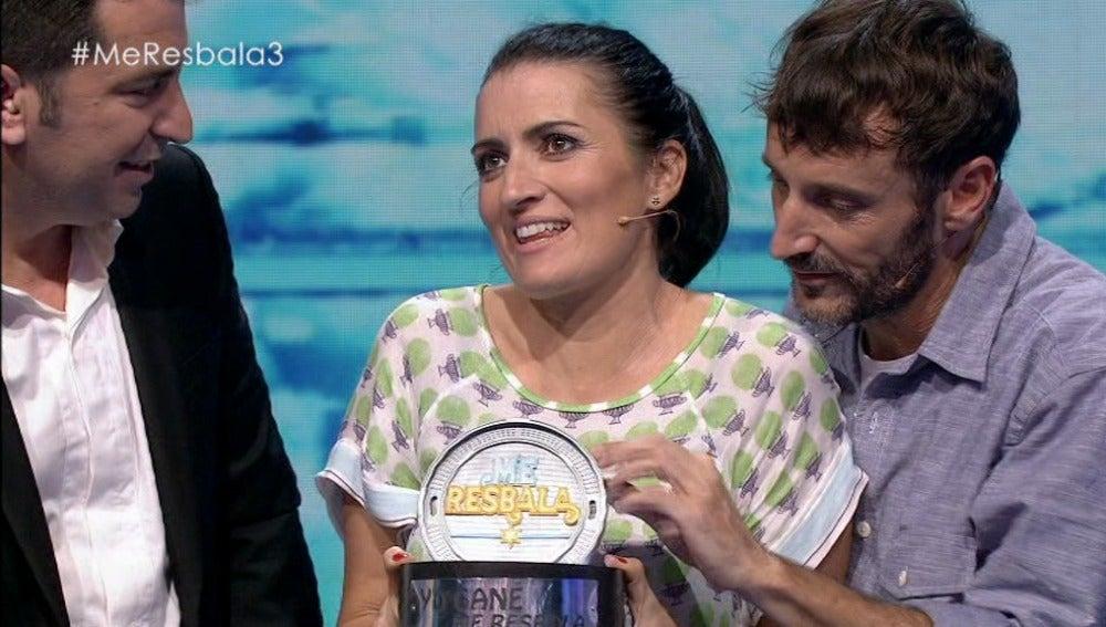 Me resbala - Silvia Abril gana el tercer programa