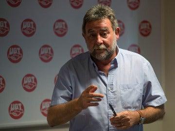 El secretario general de UGT en Andalucía, Francisco Fernández Sevilla