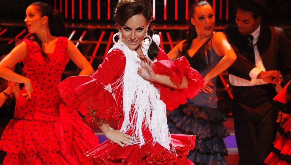 Edurne imita a Carmen Sevilla en Tu cara me suena