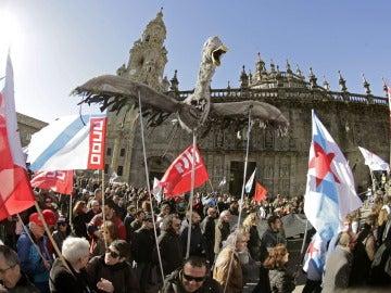Manifestación en Galicia por la sentencia del Prestige