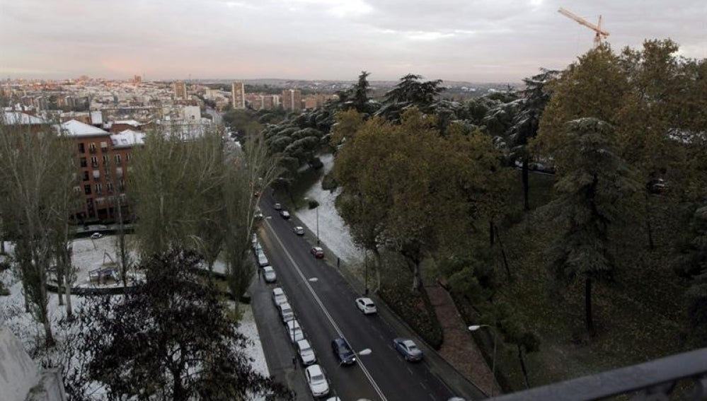 Bajas temperaturas en media España