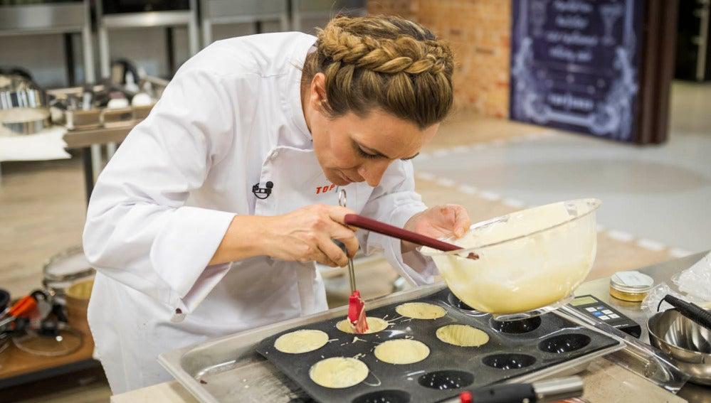 Begoña cocina en la semifinal de 'Top Chef'
