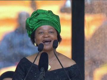 Cánticos en honor a Madiba