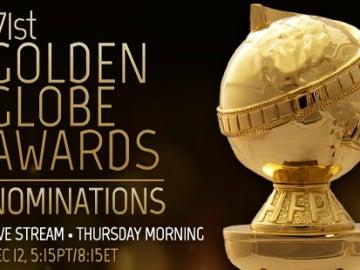 Sigue en directo el anuncio de los nominados a los Globos de Oro 2014