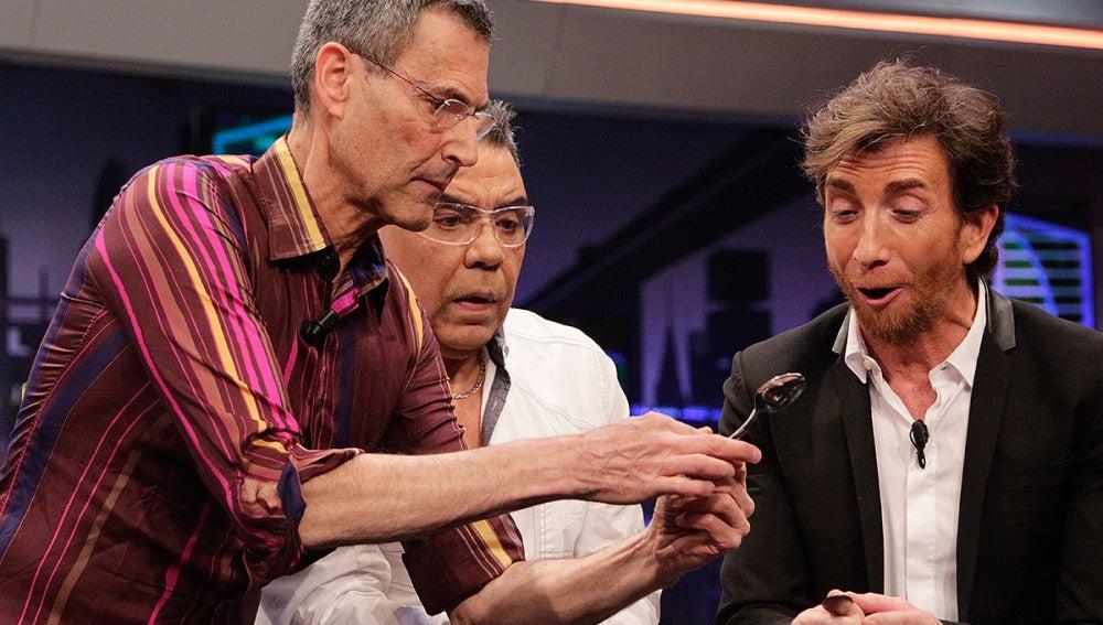 Uri Geller en El Hormiguero 3.0