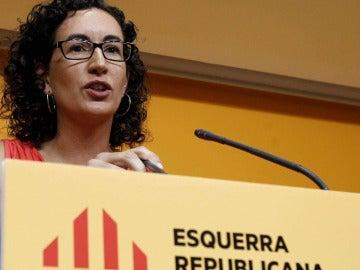 La secretaria general de Esquerra Republicana de Catalunya, Marta Rovira