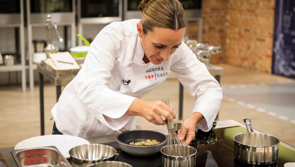 Begoña cocina en la gran final de 'Top Chef'