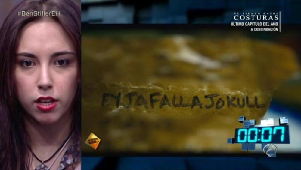 Una chica del público gana 300 euros gracias al volcán 'Eyjafallajokull'
