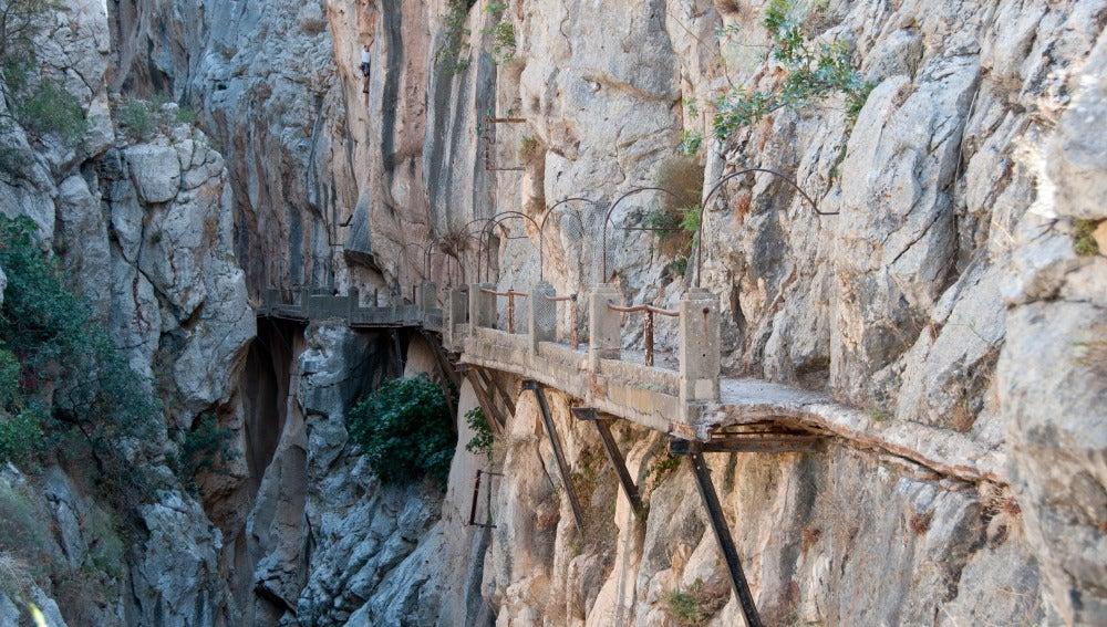 Caminito del Rey será transitable en 2015 tras concluir obras de habilitación