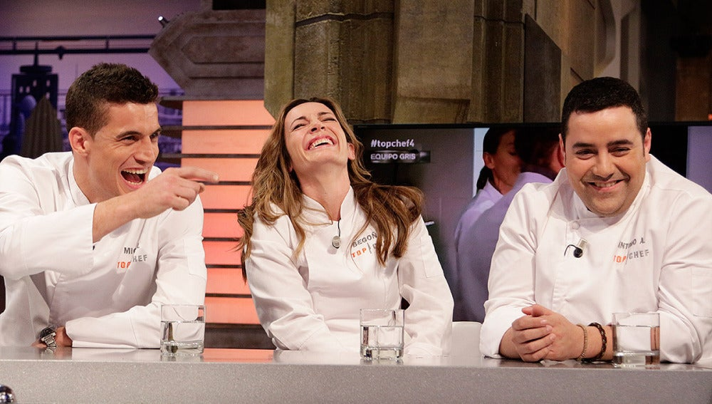 Los finalistas de 'Top Chef' en El Hormiguero 3.0