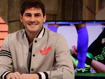 Iker Casillas en El Hormiguero 3.0