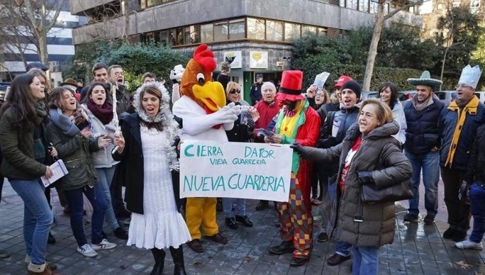 Manifestación contra el aborto en Madrid