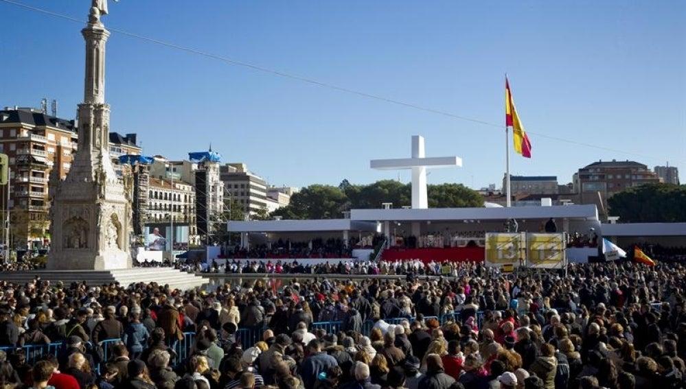 Misa de las Familias en Madrid