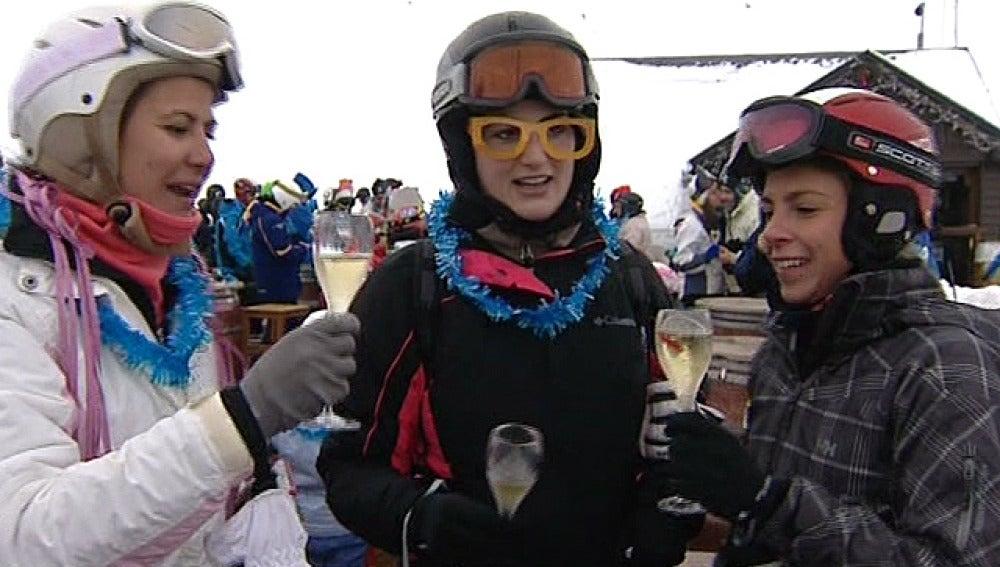 Champagne en Formigal