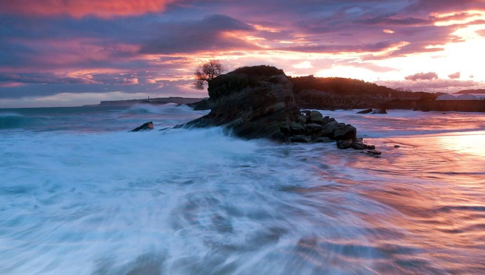 Una ola gigante en Santander