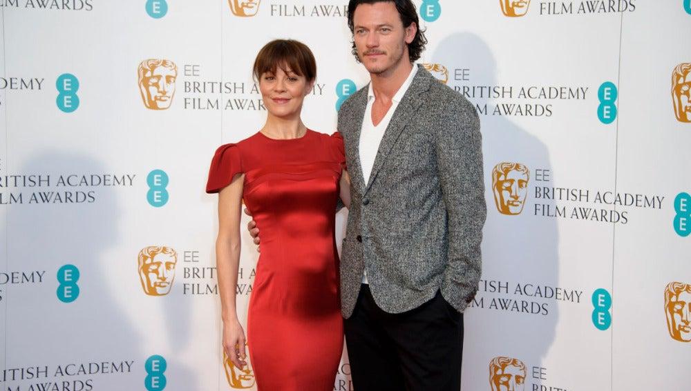 Helen McCrory y Luke Evans leen los nominados a los BAFTA 2014