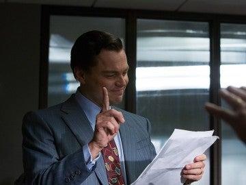Leonardo DiCaprio en 'El Lobo de Wall Street'