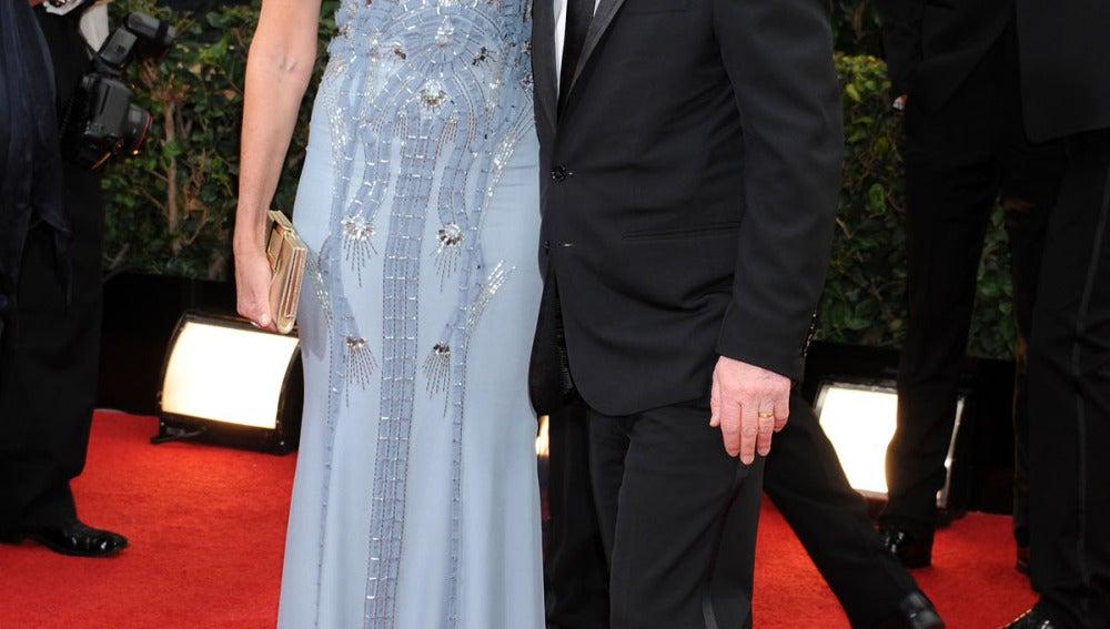 Michael J Fox y su esposa, Tracy Pollan