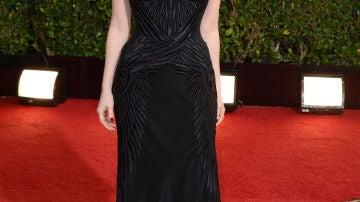 Jessica Chastain, con palabra de honor negro de givenchy