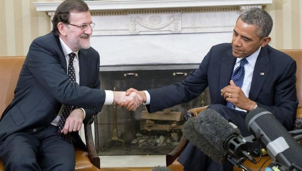 Rajoy y Obama se reúnen en la Casa Blanca