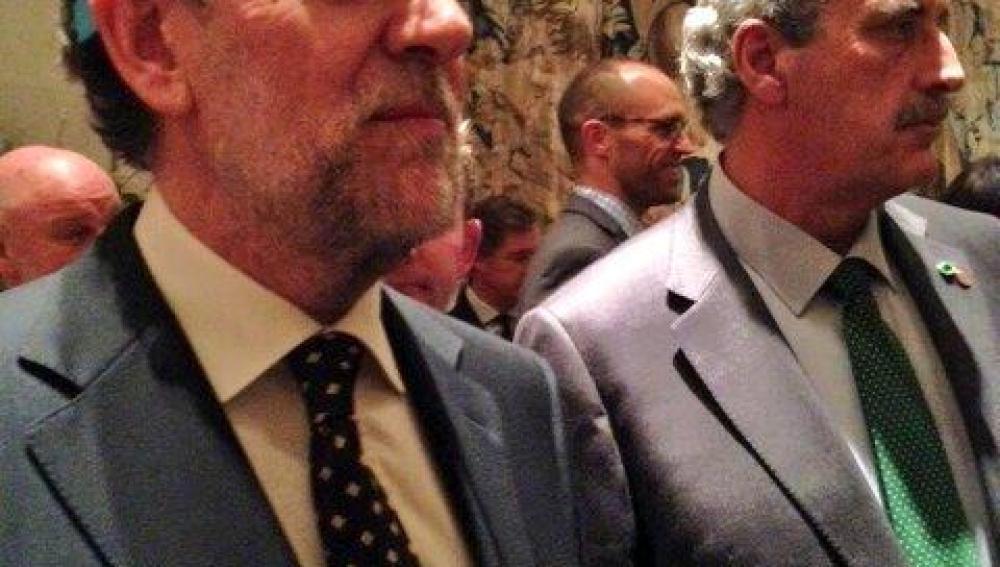 Mariano Rajoy con las Google Glass