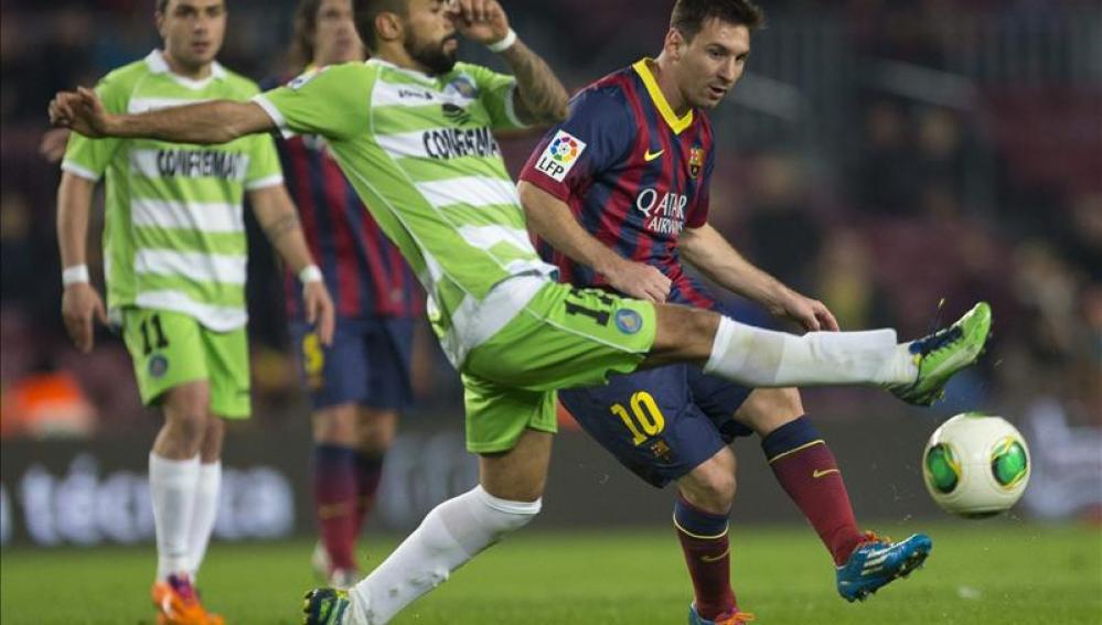 Messi reaparece ante el Getafe