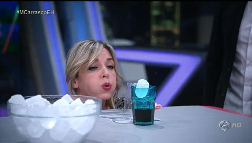 Anna Simon y los cubitos de hielo
