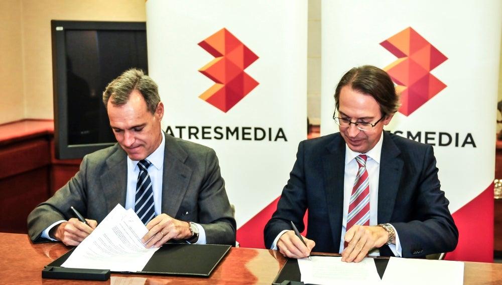 Atresmedia firma el acuerdo con la Agencia EFE