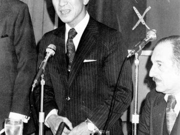 Hiroo Onoda tras pasar 30 años en Filipinas