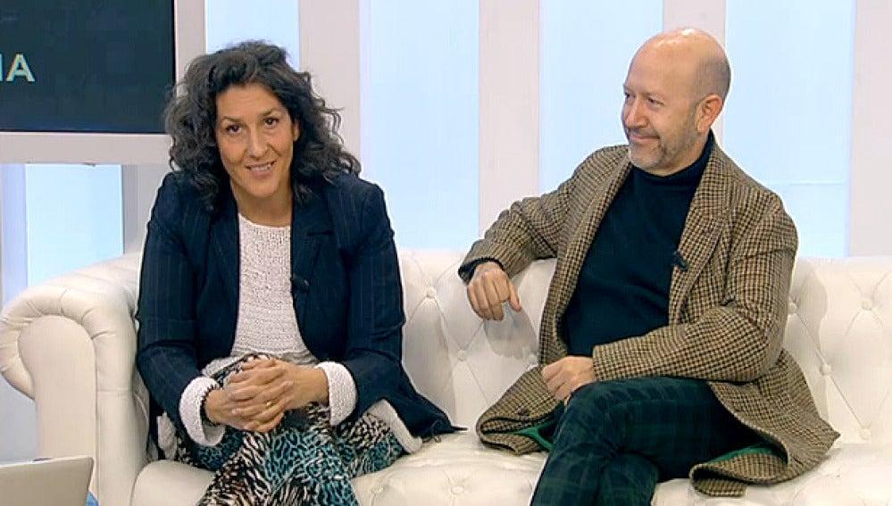 Elvira Mínguez y Emilio A. Pina