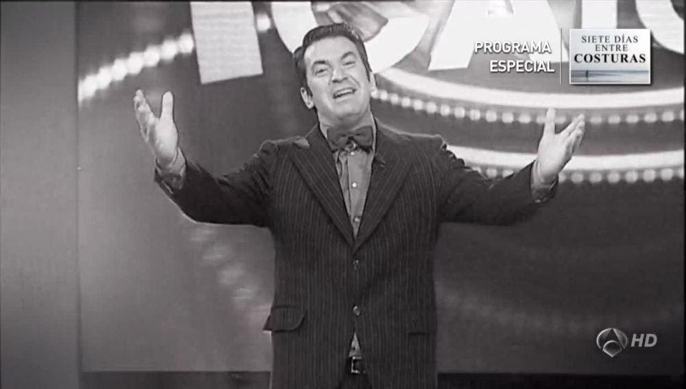 Arturo Valls en blanco y negro