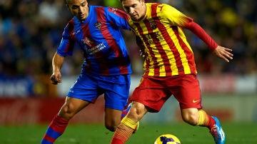 Messi ante Nabil El Zhar