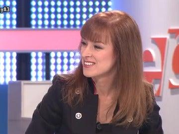 Gloria Lomana, en una entrevista en Espejo Público