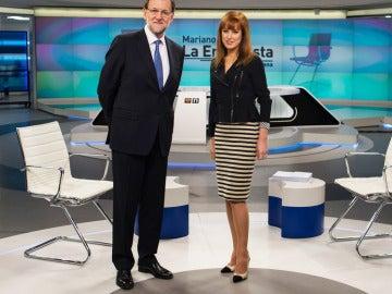 Gloria Lomana y Mariano Rajoy