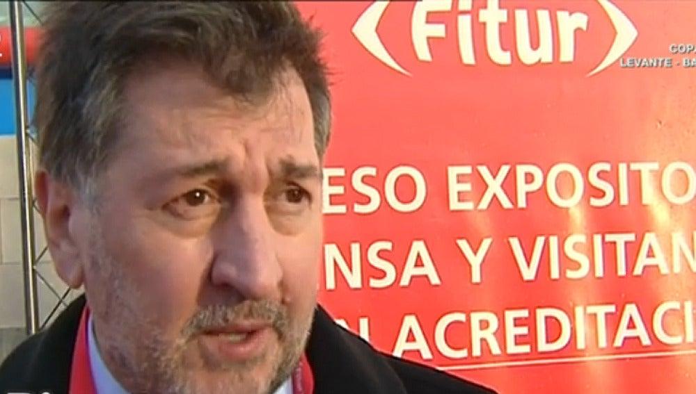 Amancio López, presidente de Exceltur