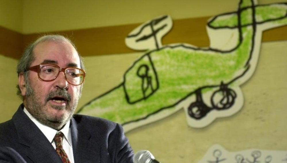 Manu Leguineche, periodista y escritor.
