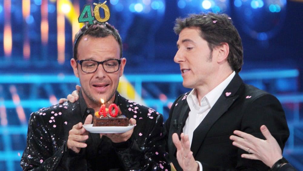 Ángel Llácer y Manel Fuentes