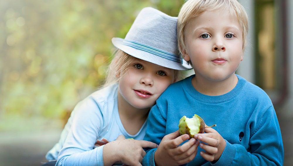 Los pequeños Vanya y Yaroslav