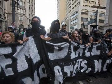 Marchas en Brasil contra el Mundial 2014